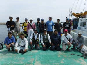17年度釣り大会の写真